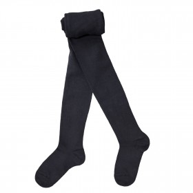 Collants enfant coton - Noir