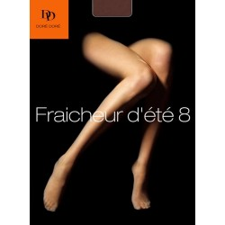 Collants matité 13 deniers - Marron Ambre
