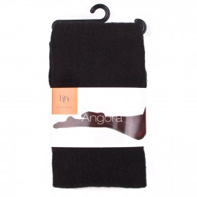Collant Tendresse angora - Noir