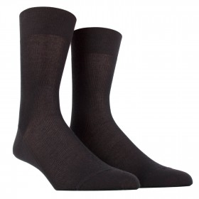 Anti-perspirant black socks 'Tripoli'